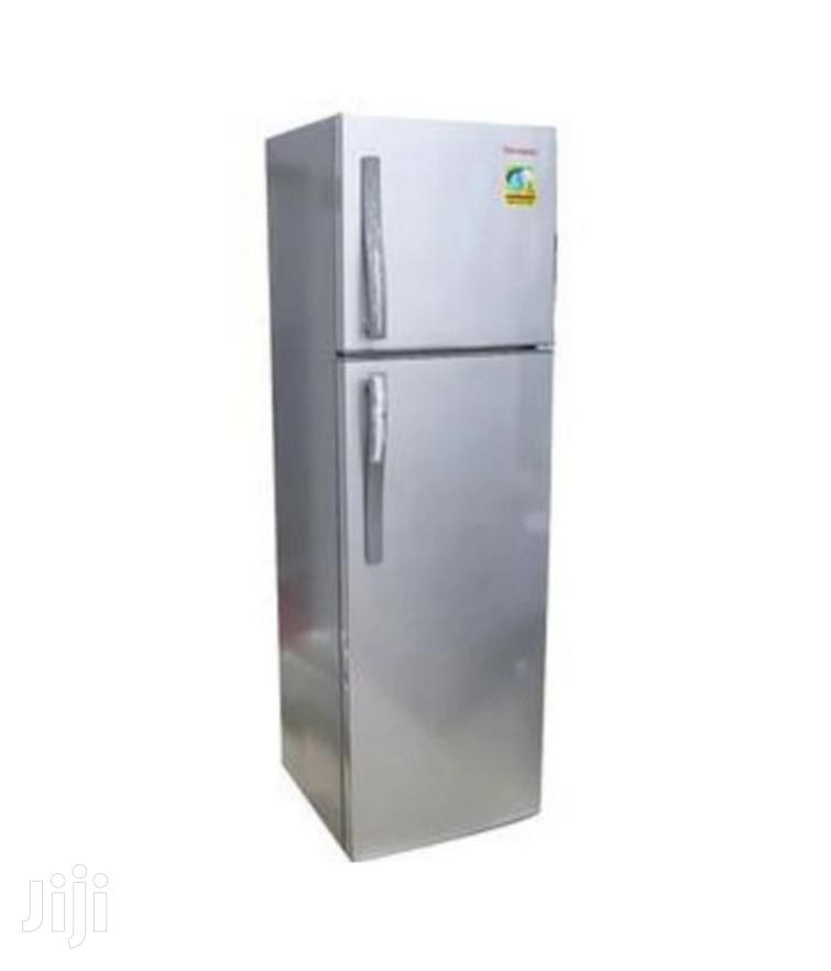 Changhong 260L Frost Free Double Door Refrigerator - Silver | Kitchen Appliances for sale in Kampala, Central Region, Uganda