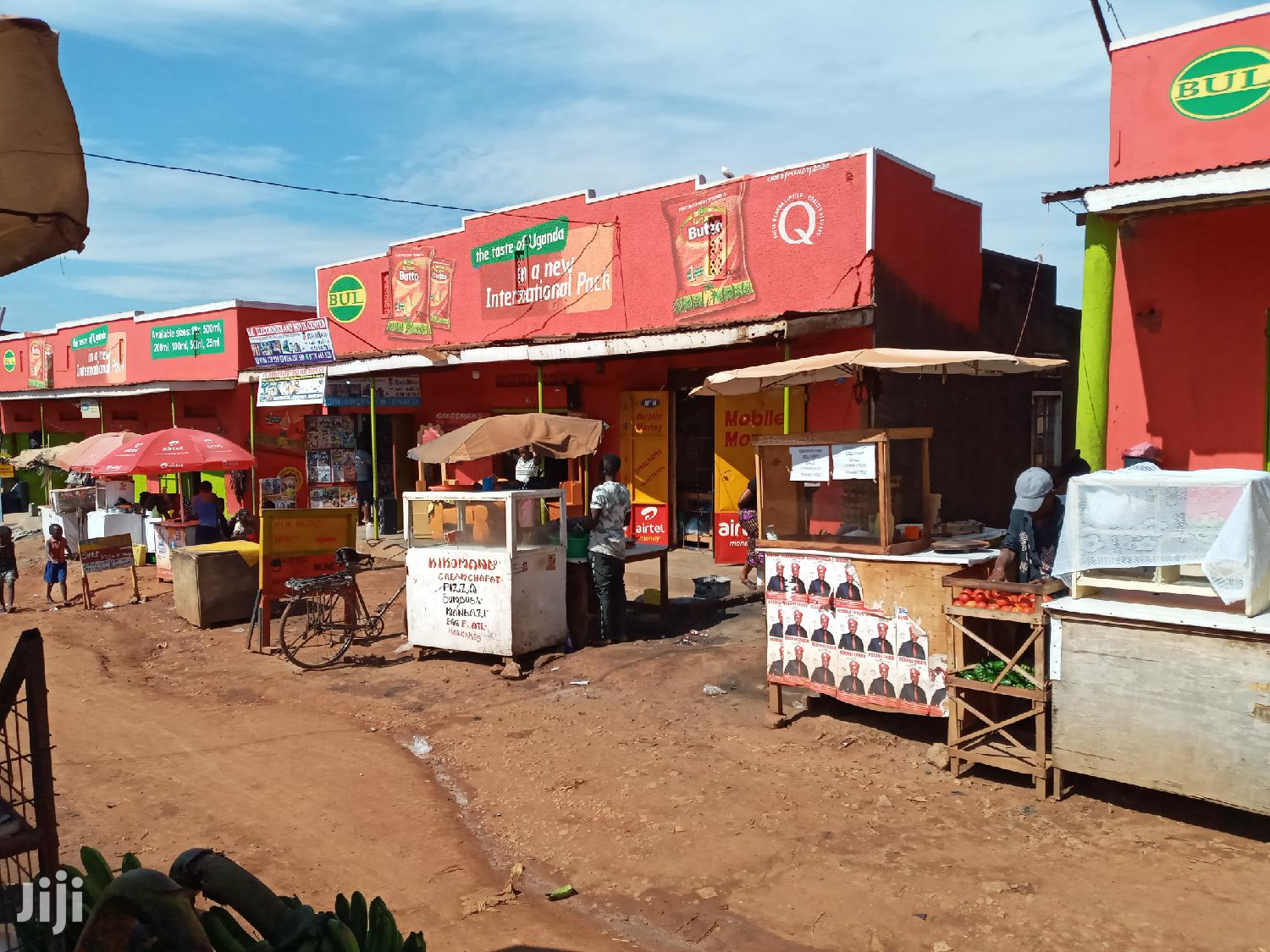 3 Commercial Shops With Rentals on Quicksale Najjanankumbi