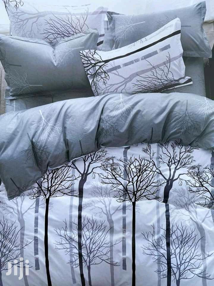 Exective 10 Pcs Duvet 100%Cotton With Bedroom Curtains 6x6