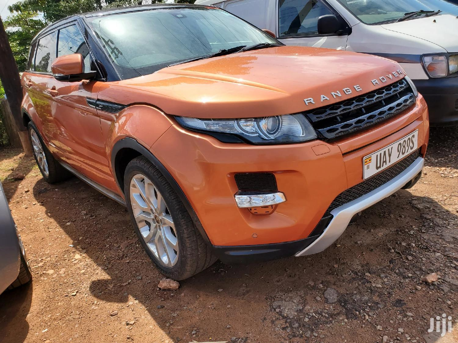 Land Rover Range Rover Evoque 2011 Orange | Cars for sale in Kampala, Central Region, Uganda