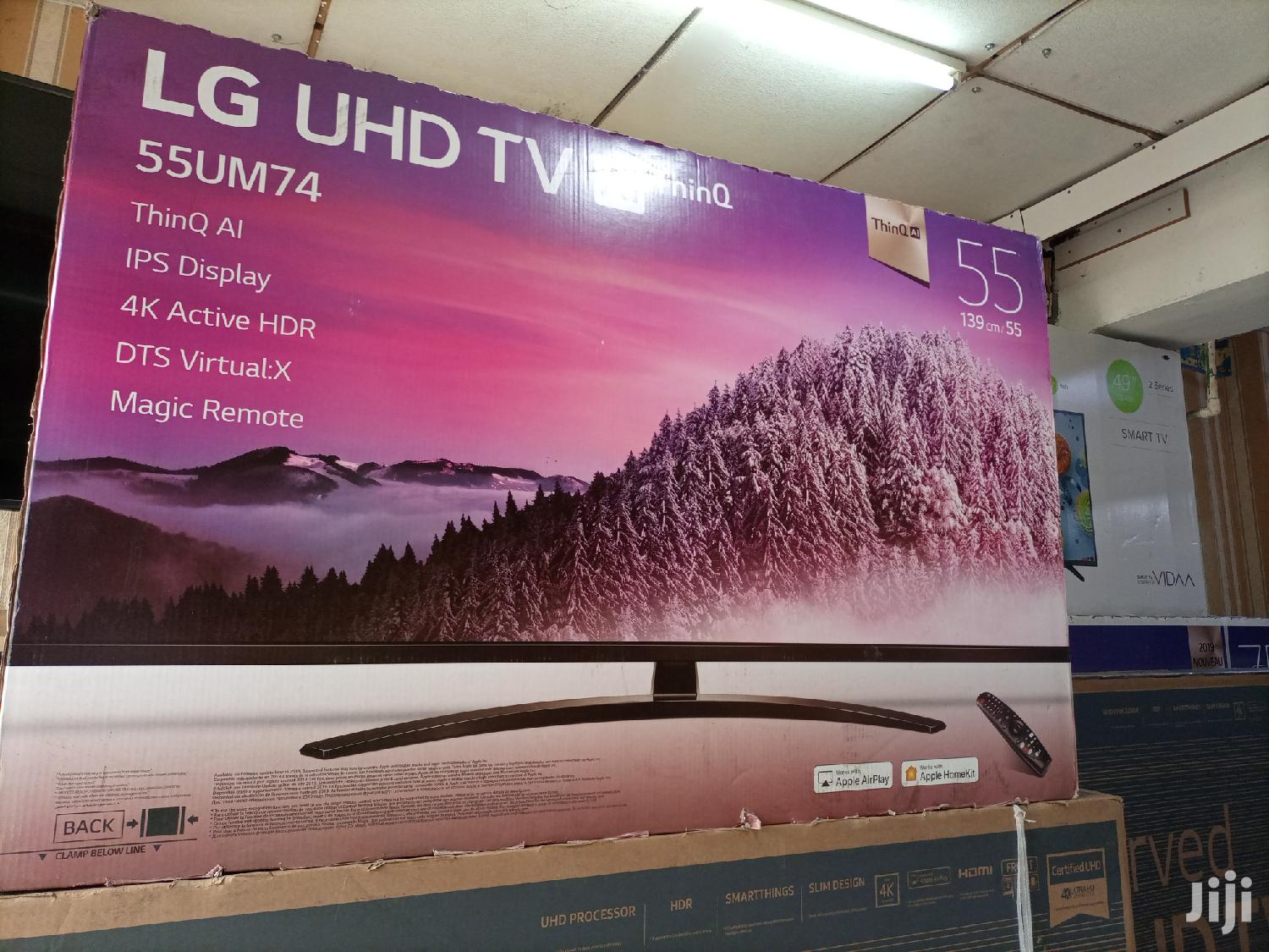 LG Smart Ultra HD 4K Digital Flat Screen TV 55 Inches
