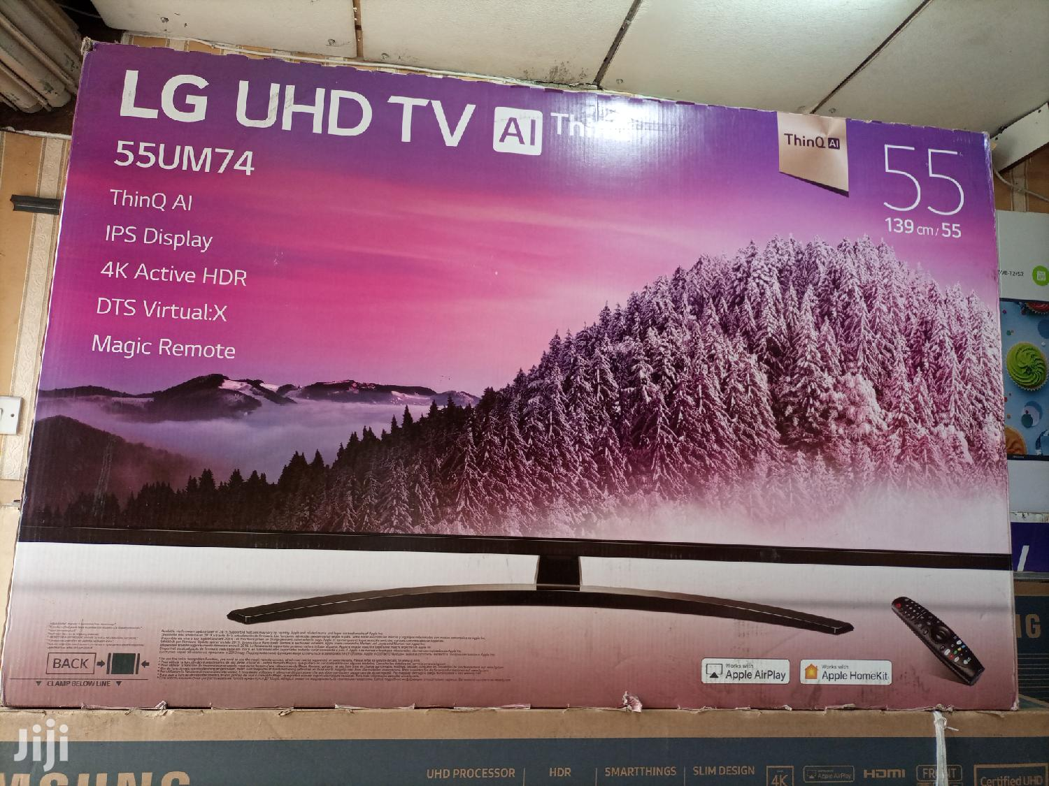 LG Smart Ultra HD 4K Digital Flat Screen TV 55 Inches | TV & DVD Equipment for sale in Kampala, Central Region, Uganda