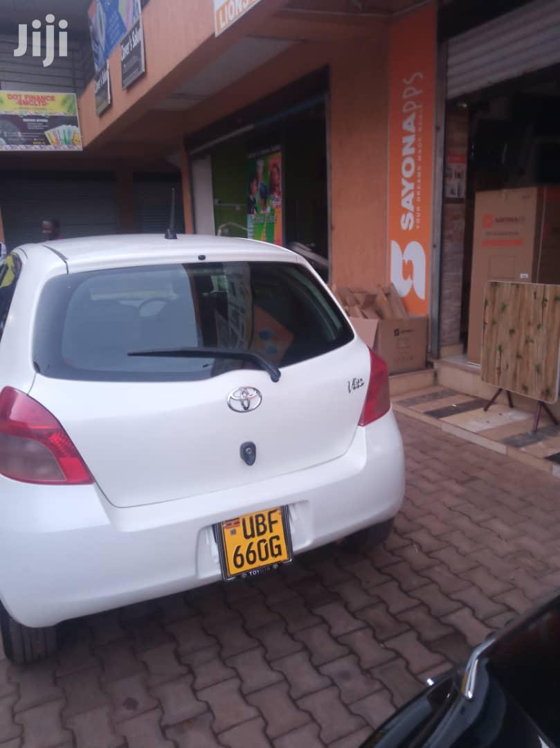 Toyota Vitz 2006 White | Cars for sale in Kampala, Central Region, Uganda