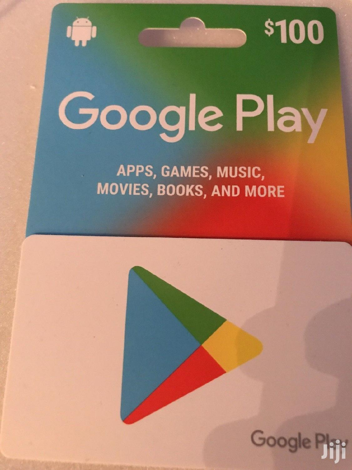 Google Play Card | Accessories for Mobile Phones & Tablets for sale in Kampala, Central Region, Uganda