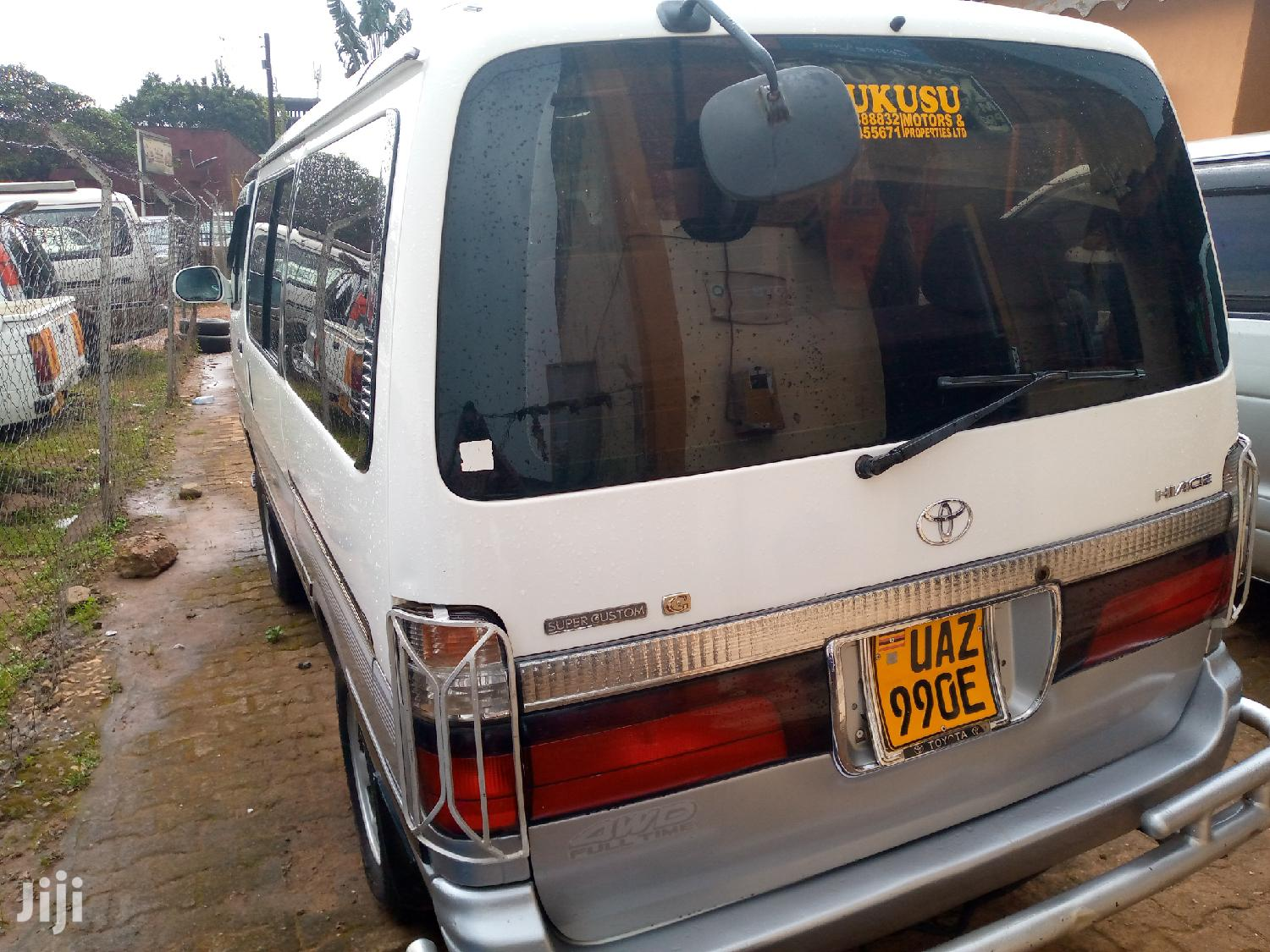 Archive: Toyota HIAce 2002