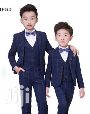 Boy Checked Gentle Suit (Full Set) | Children's Clothing for sale in Central Region, Kampala