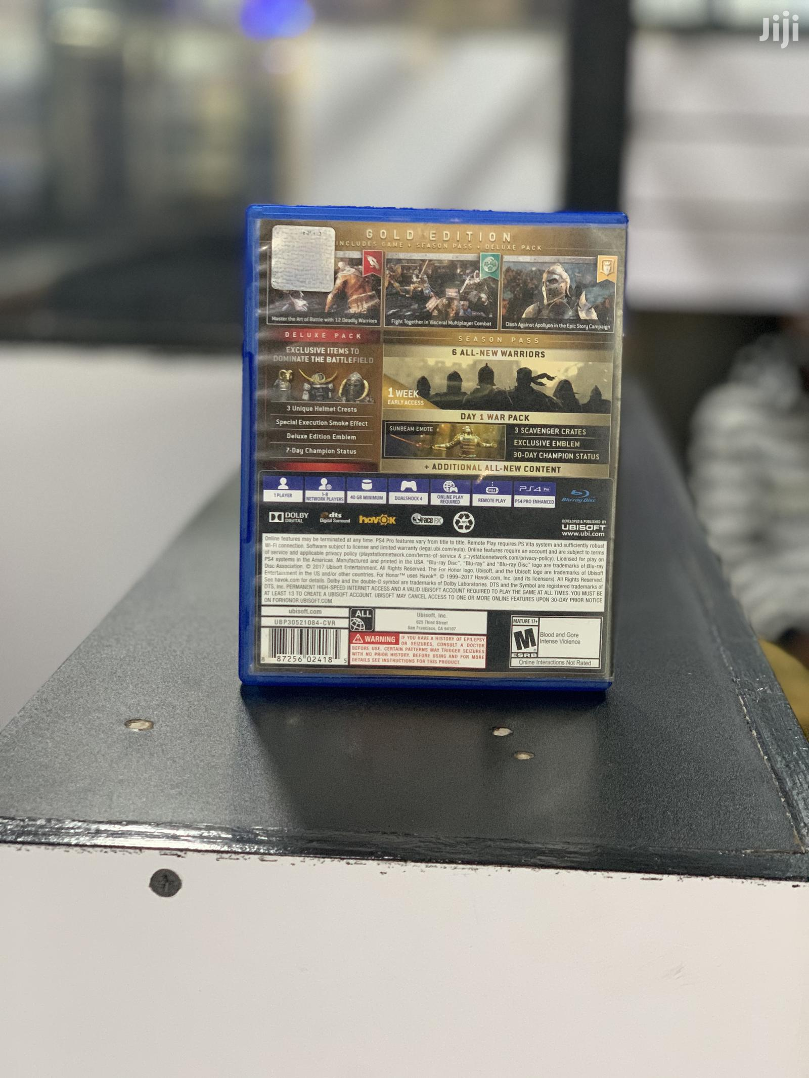 For Honor Ps4 Game | Video Games for sale in Kampala, Central Region, Uganda