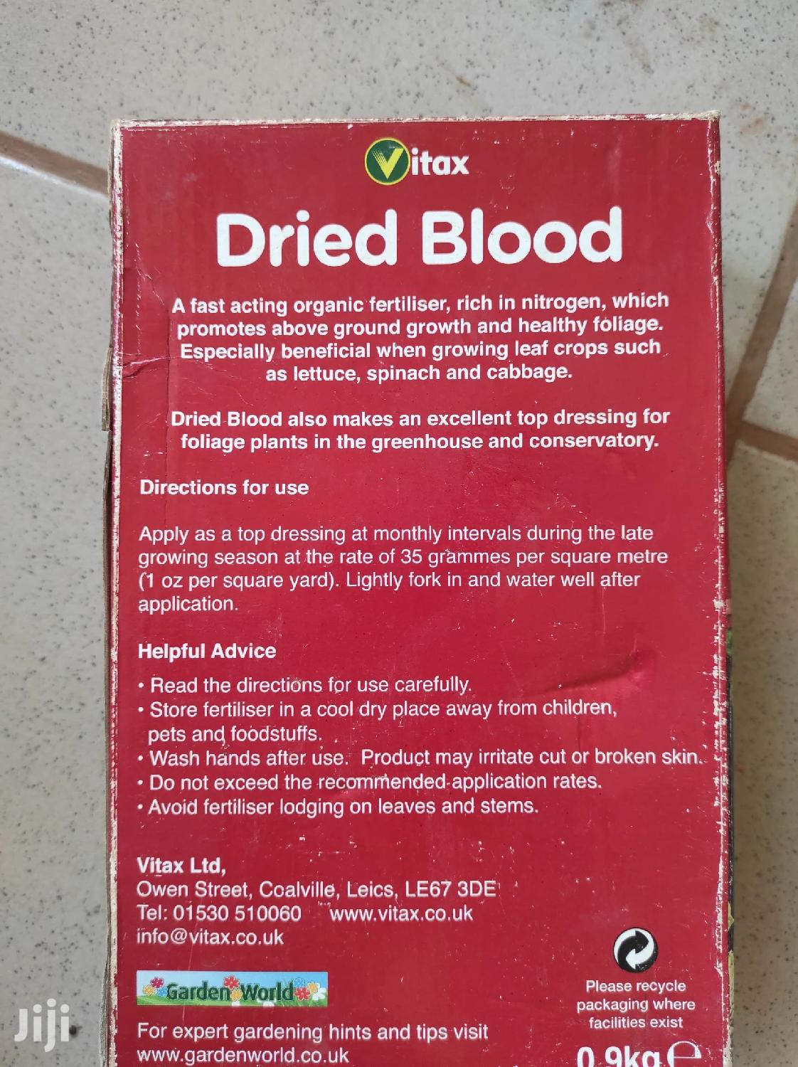 Dried Blood | Feeds, Supplements & Seeds for sale in Kampala, Central Region, Uganda