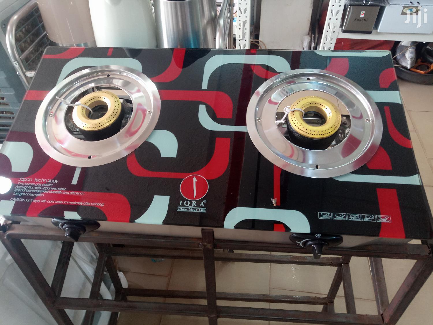 Gas Plate Of Two