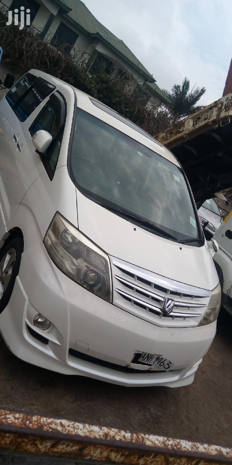 Toyota Alphard 2007 White | Cars for sale in Kampala, Central Region, Uganda