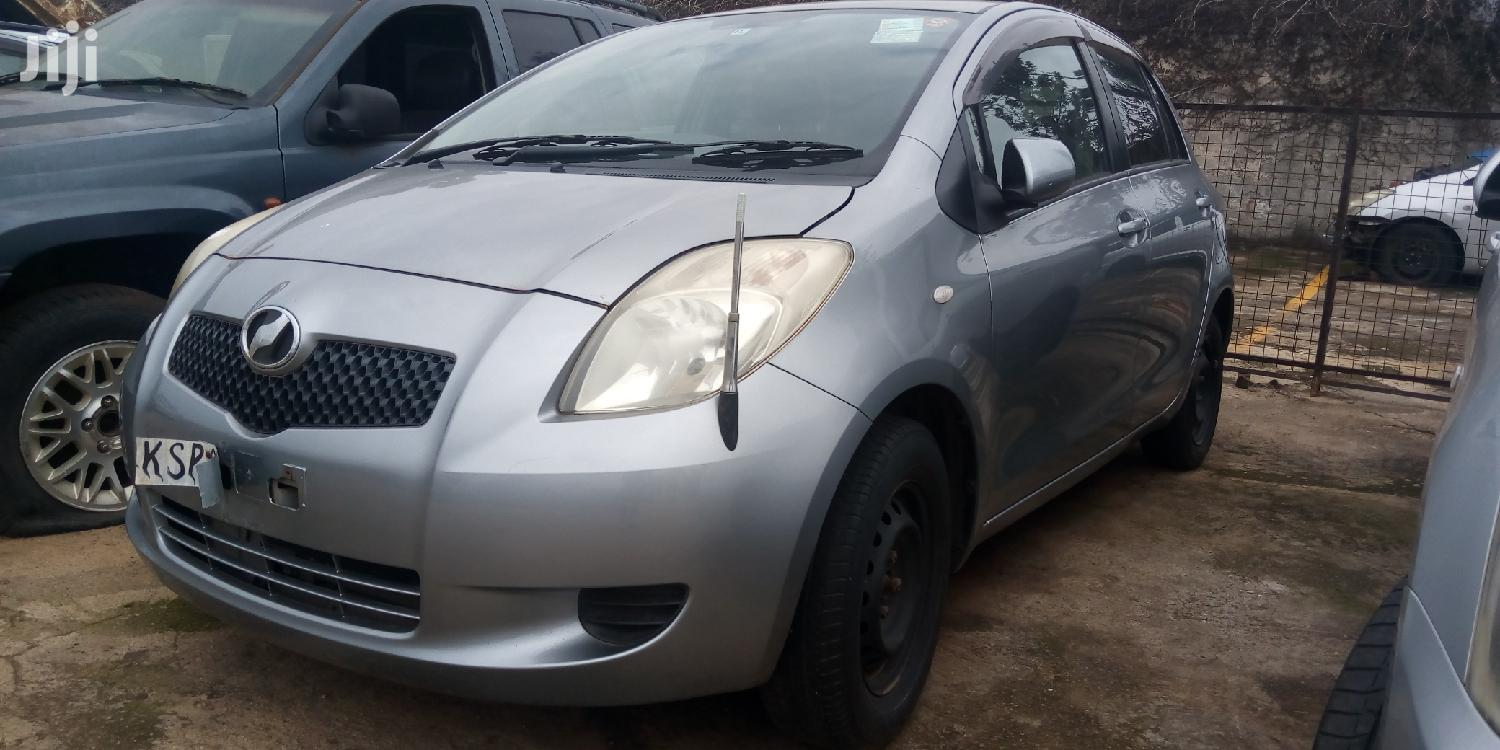 New Toyota Vitz 2008 Gray | Cars for sale in Kampala, Central Region, Uganda