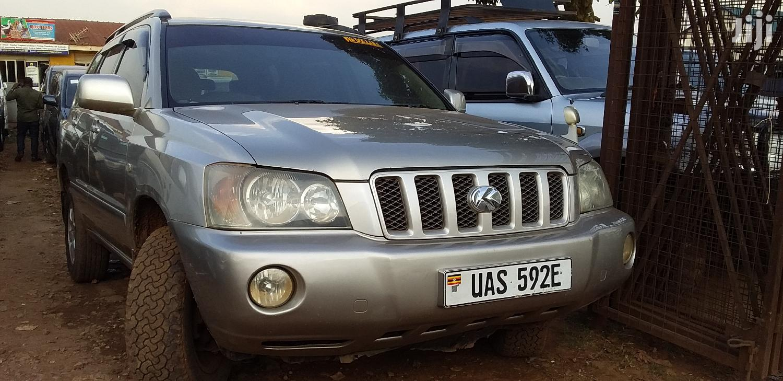 Toyota Kluger 2002 Gold | Cars for sale in Kampala, Central Region, Uganda