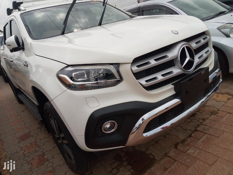 New Mercedes-Benz X Class 2018 White
