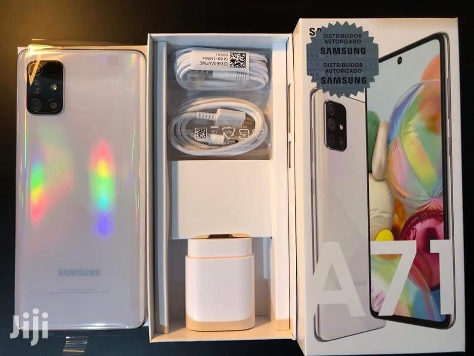 New Samsung Galaxy A71 128 GB White | Mobile Phones for sale in Kampala, Central Region, Uganda