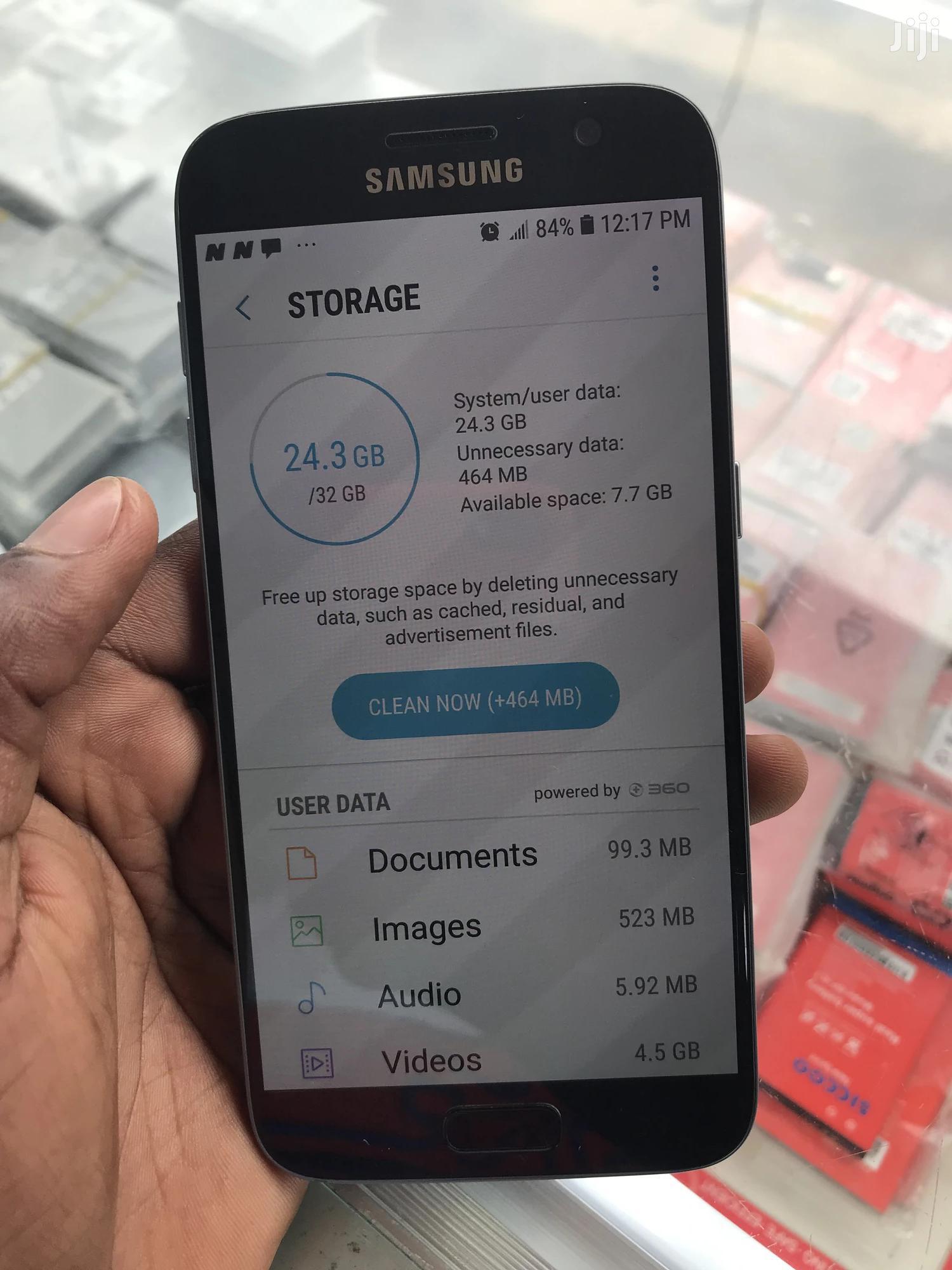 New Samsung Galaxy S7 32 GB Black