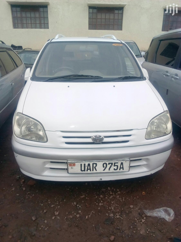 Archive: Toyota Raum 1998 White