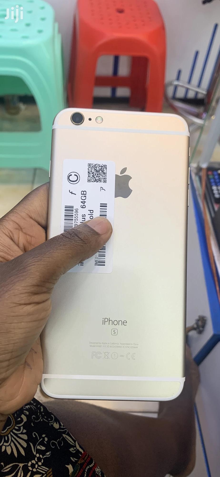 New Apple iPhone 6s Plus 64 GB Gold