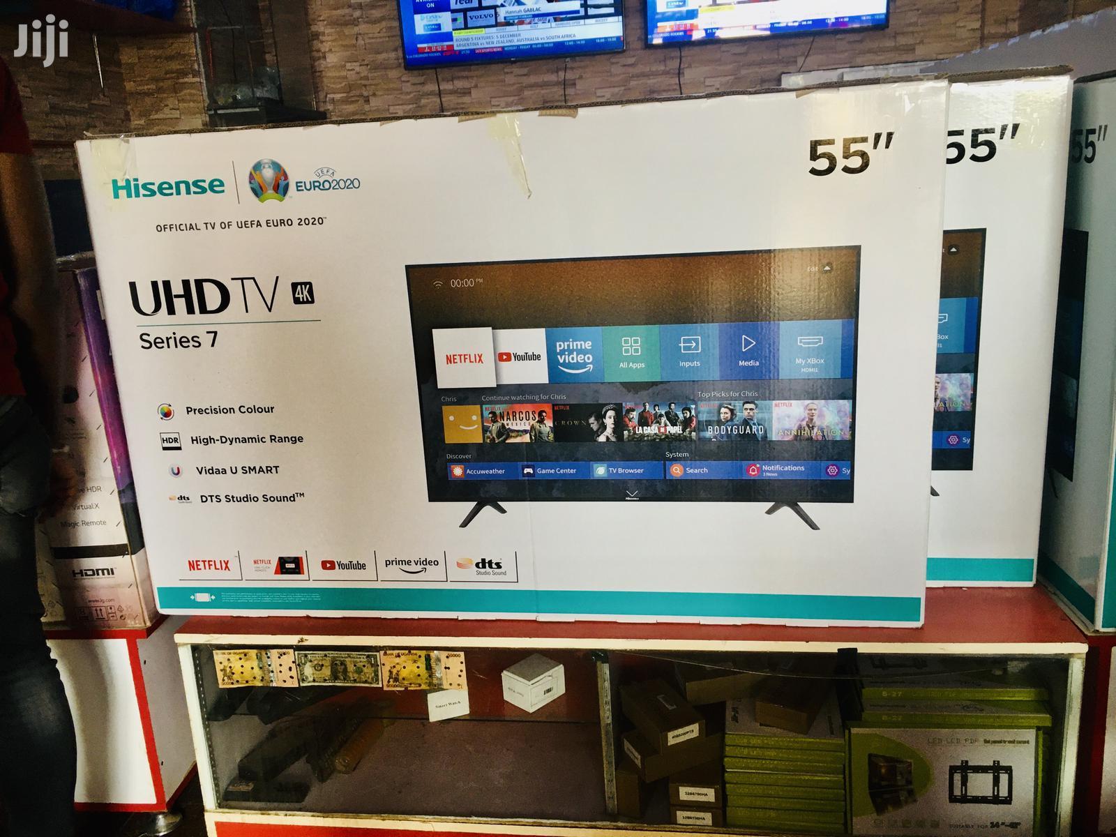 Hisense 55 Inches New UHD 4K Smart TV B