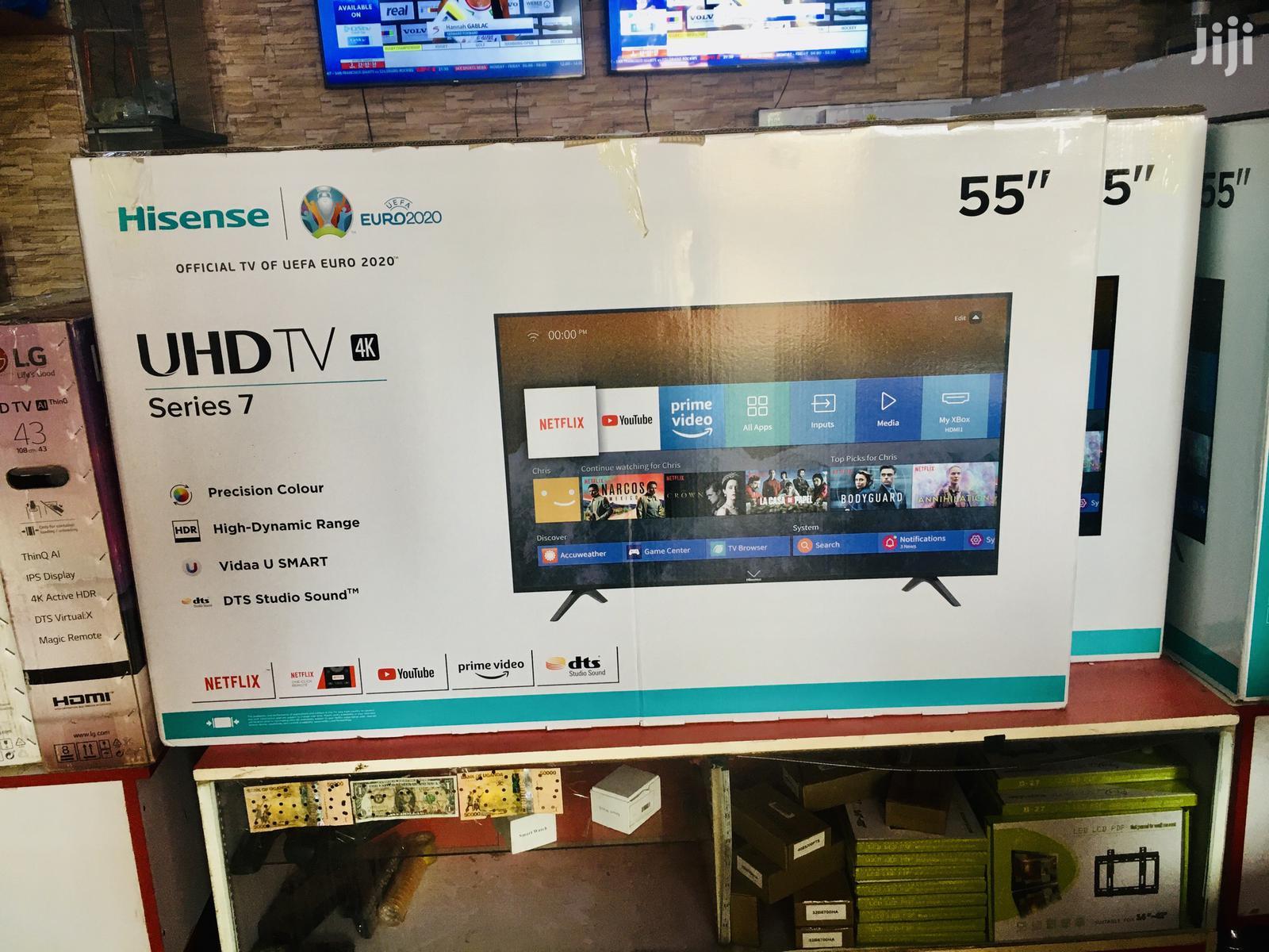 Brand New Hisense 55 Inches Smart UHD 4K TV