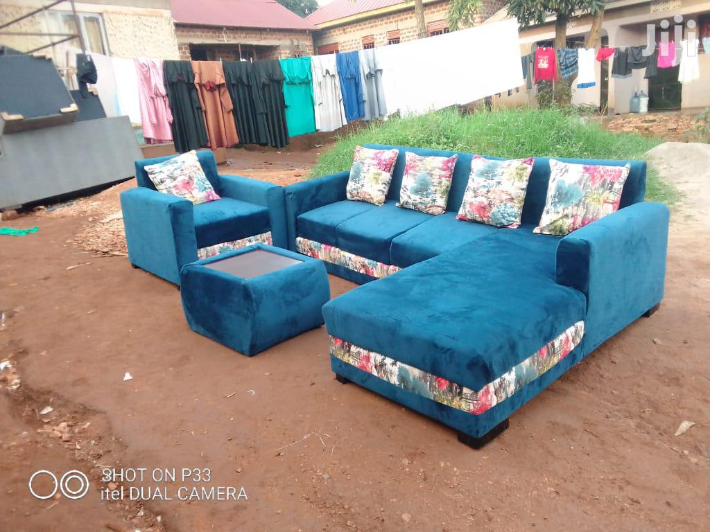 7 Seater L Shaped Sofa Set Class A