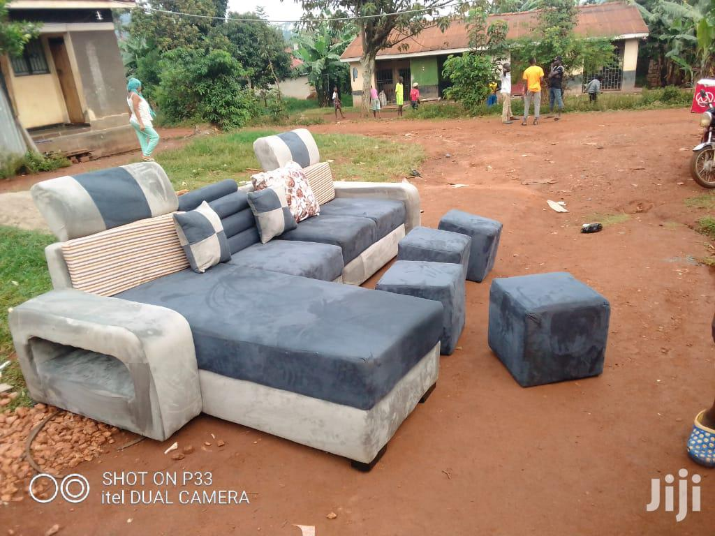 7 Seater L Shaped Sofa Set Class A | Furniture for sale in Kampala, Central Region, Uganda