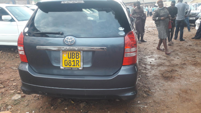 Toyota Wish 2004 Gray   Cars for sale in Kampala, Central Region, Uganda