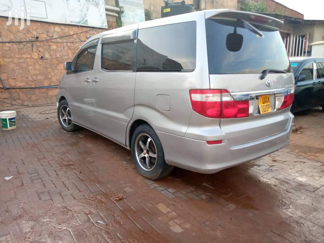 Toyota Alphard 2002 Silver   Cars for sale in Kampala, Central Region, Uganda