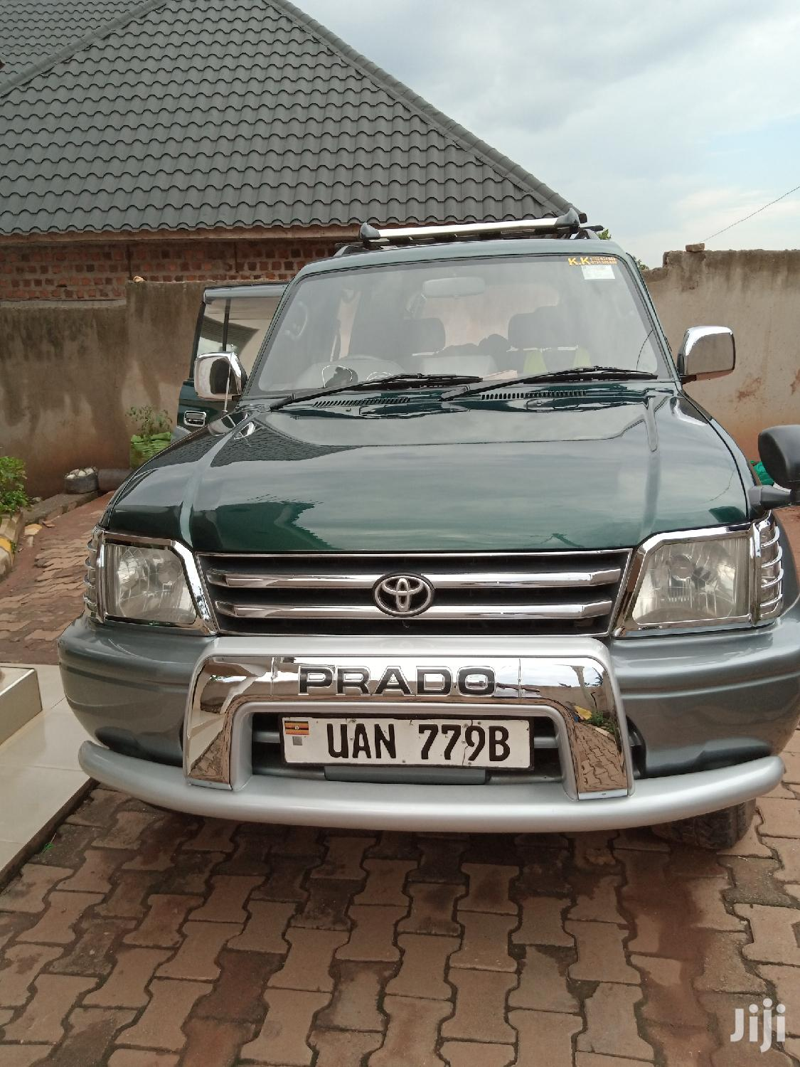 Toyota Land Cruiser Prado 1998 Green
