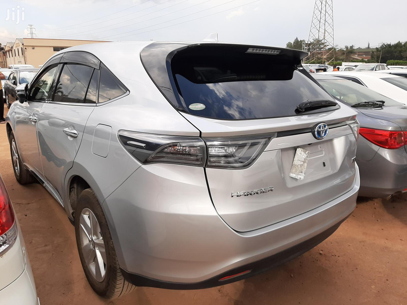Toyota Harrier 2014 Silver | Cars for sale in Kampala, Central Region, Uganda