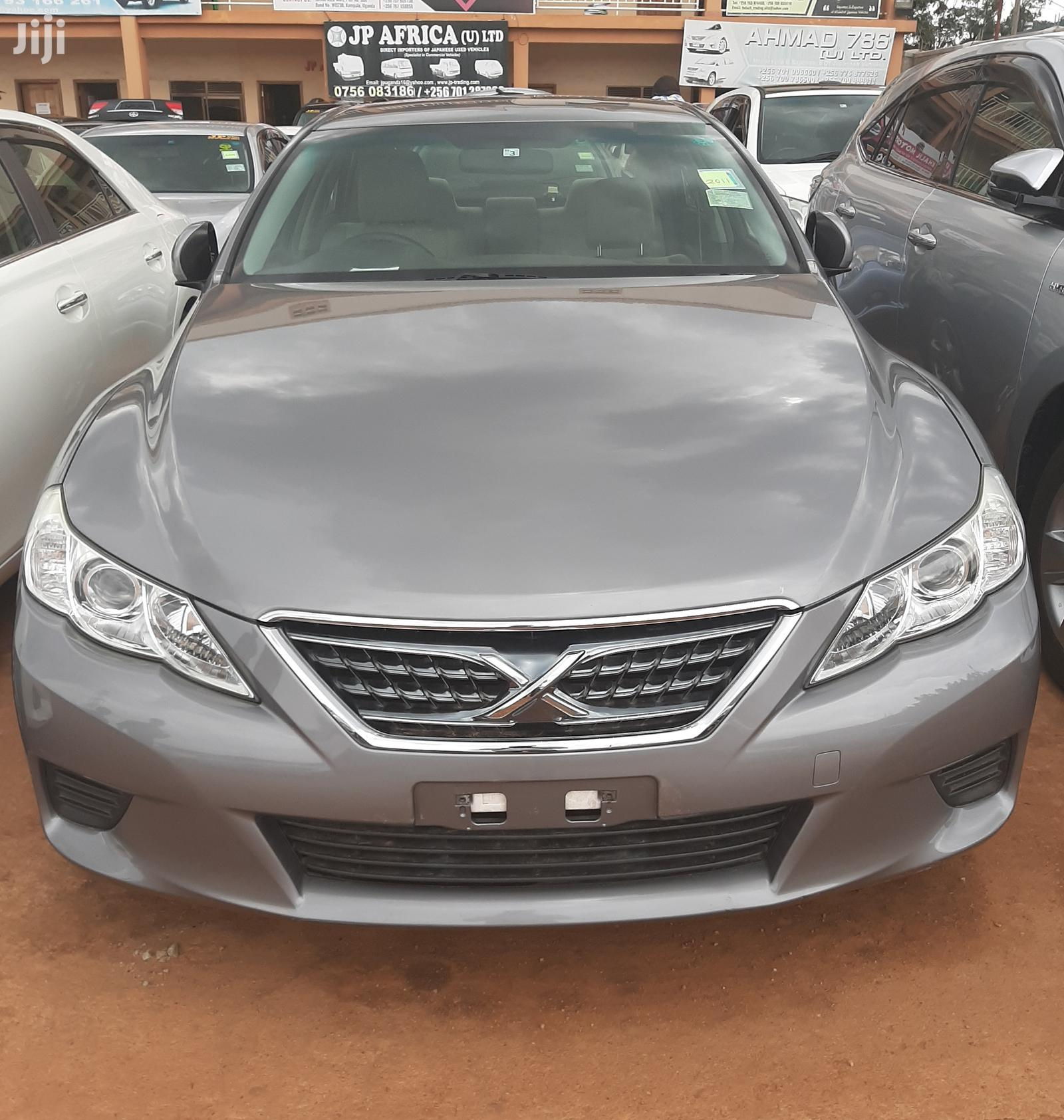 Toyota Mark X 2011 Gray