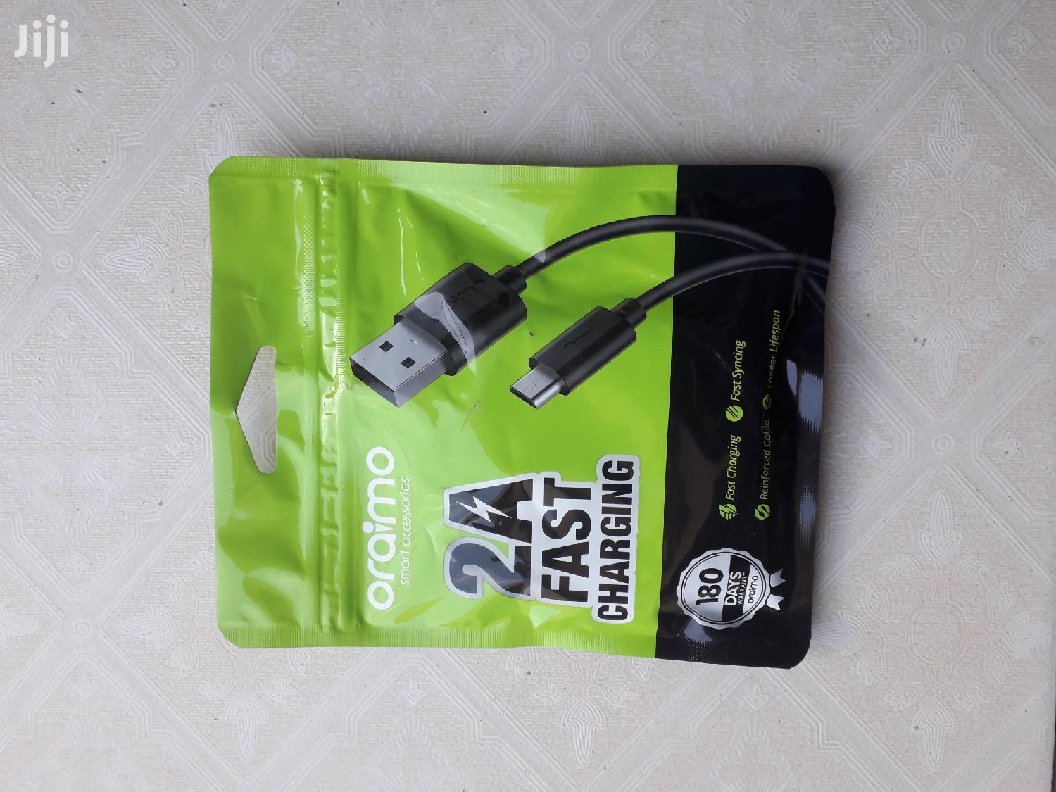 Oraimo 2A Fast Charging Type-c USB Cable