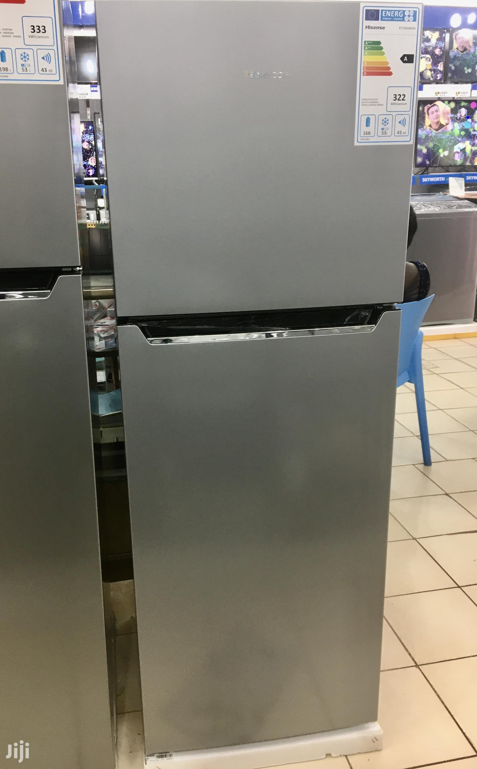 Hisense 295 Litres Double Door Fridge Frost Free | Kitchen Appliances for sale in Kampala, Central Region, Uganda