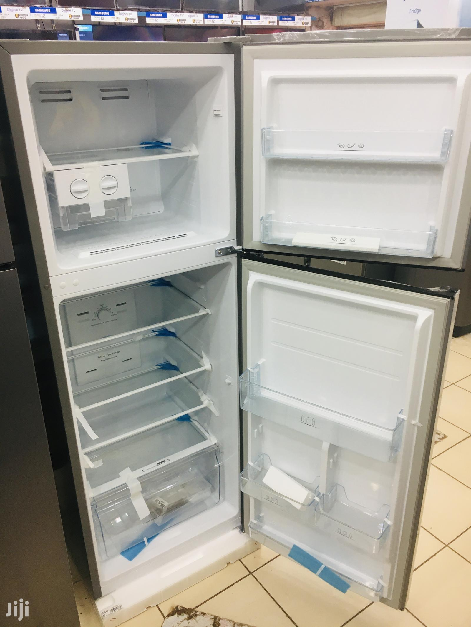 Hisense 295 Litres Double Door Refrigerator Frost Free | Kitchen Appliances for sale in Kampala, Central Region, Uganda