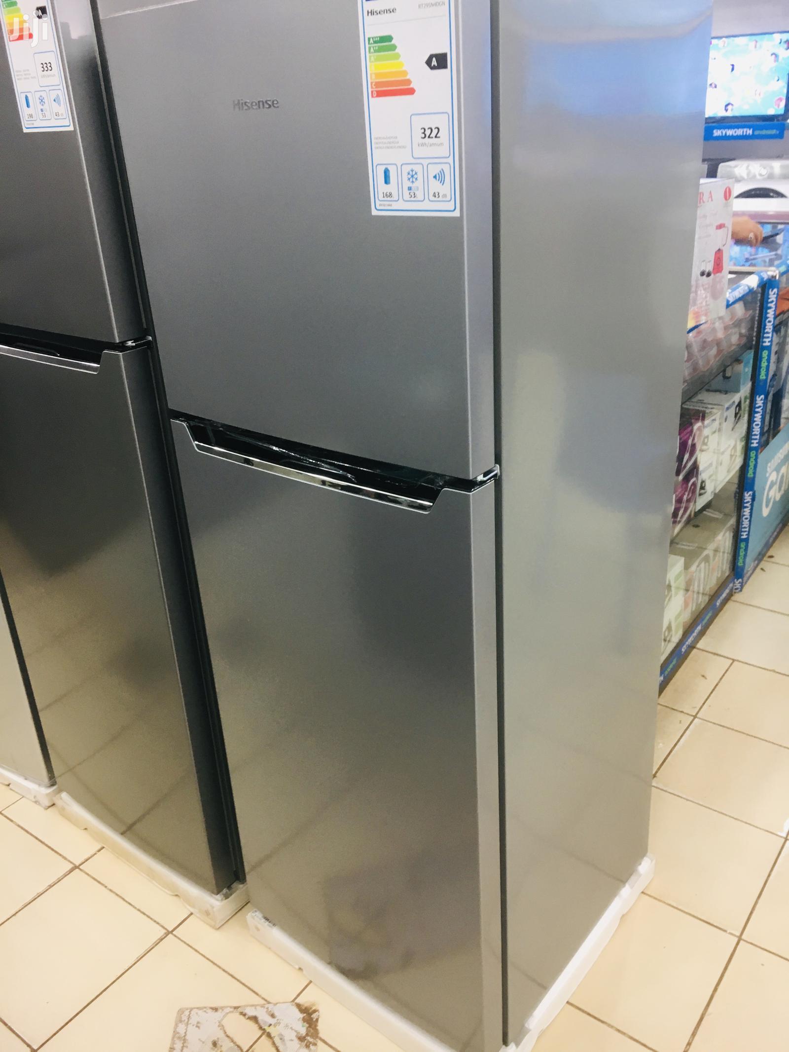 Hisense 295 Litres Double Door Refrigerator Frost Free | Kitchen Appliances for sale in Kampala, Central Region, Uganda