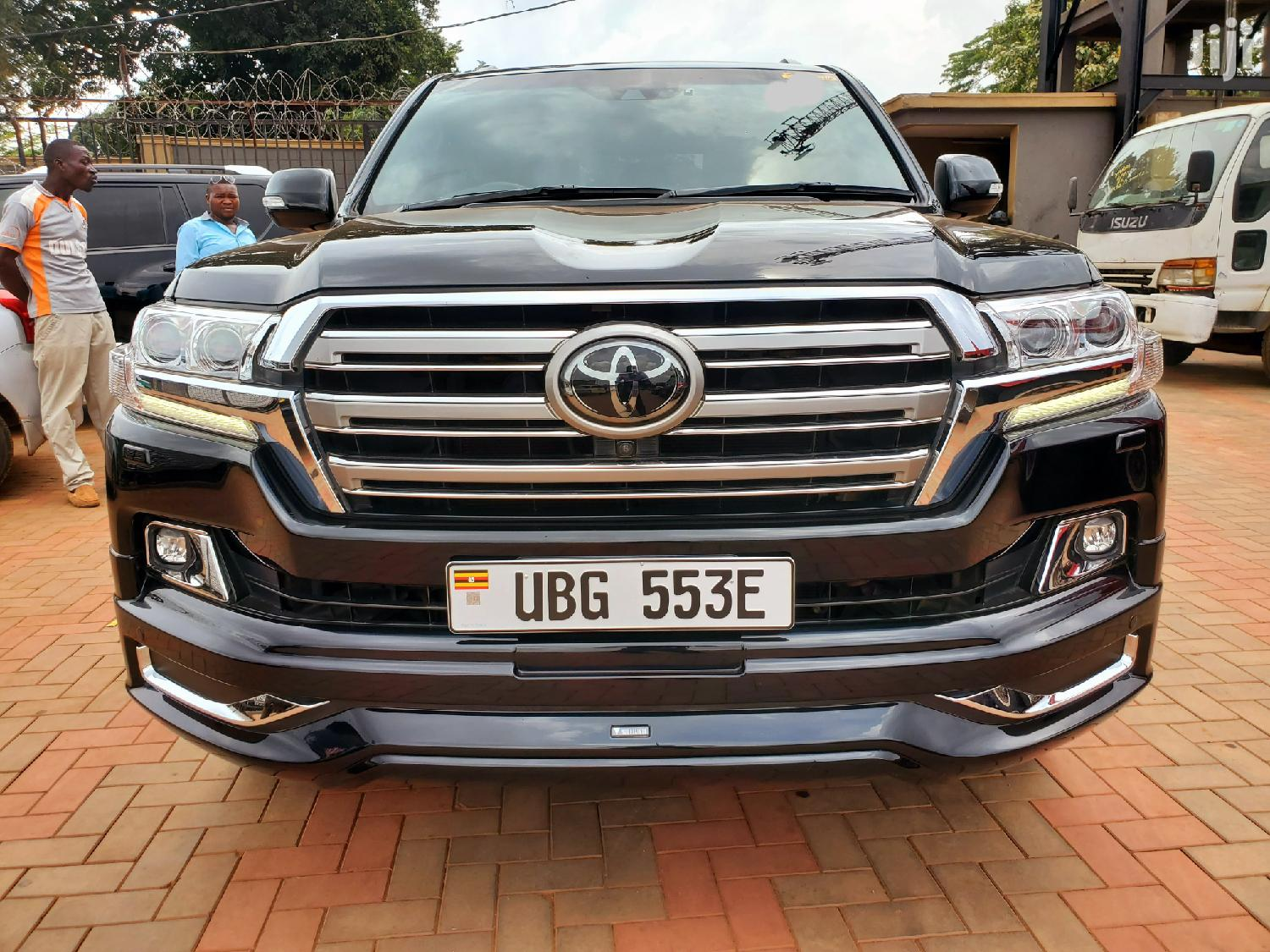 Toyota Land Cruiser 2018 Black