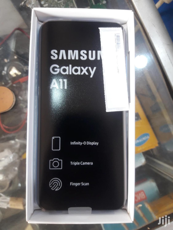 New Samsung Galaxy A11 32 GB Blue   Mobile Phones for sale in Kampala, Central Region, Uganda