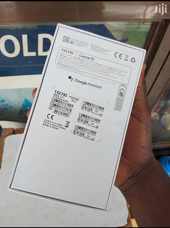 Archive: New Tecno Camon 12 64 GB Blue