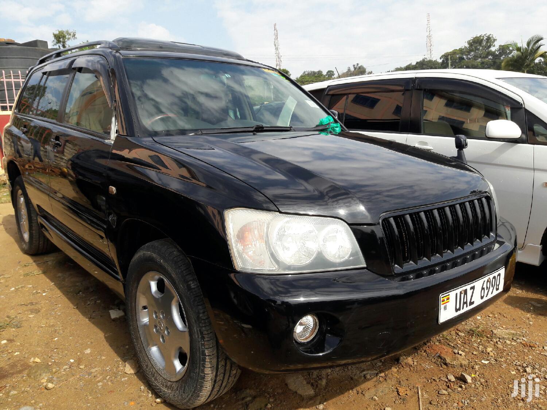 Toyota Kluger 2004 Black | Cars for sale in Kampala, Central Region, Uganda