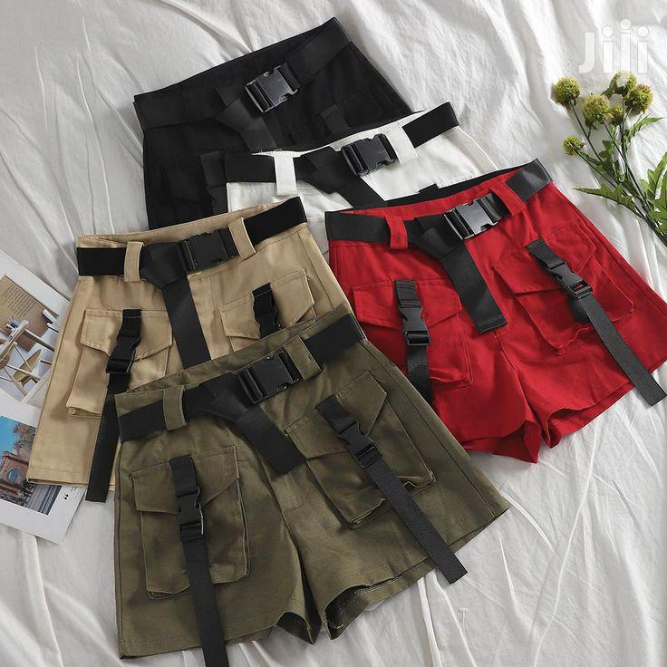 Ladies Cargo Short Pants | Clothing for sale in Kampala, Central Region, Uganda