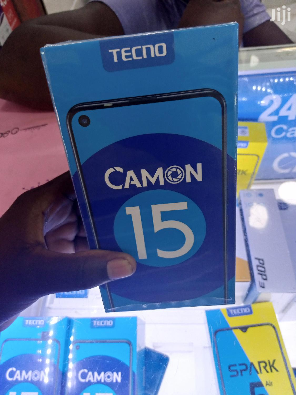New Tecno Camon 15 64 GB Black | Mobile Phones for sale in Kampala, Central Region, Uganda