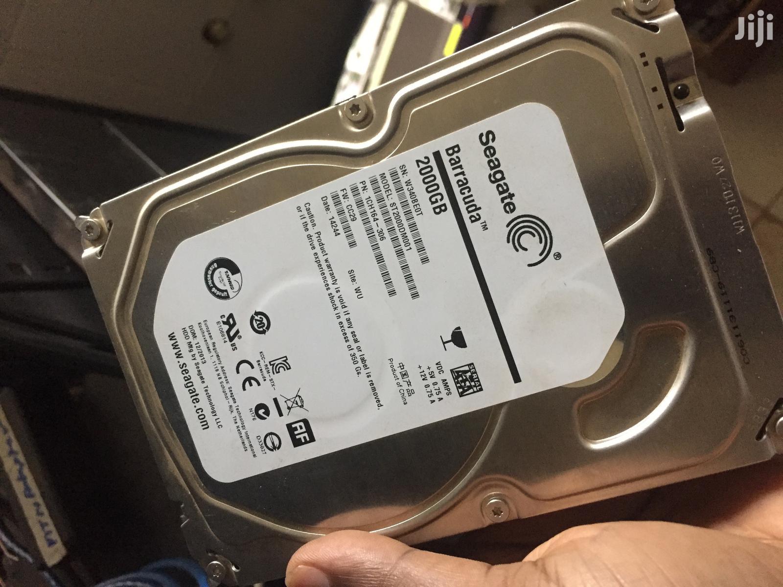 Seagate 2TB 2000GB Hard Disk