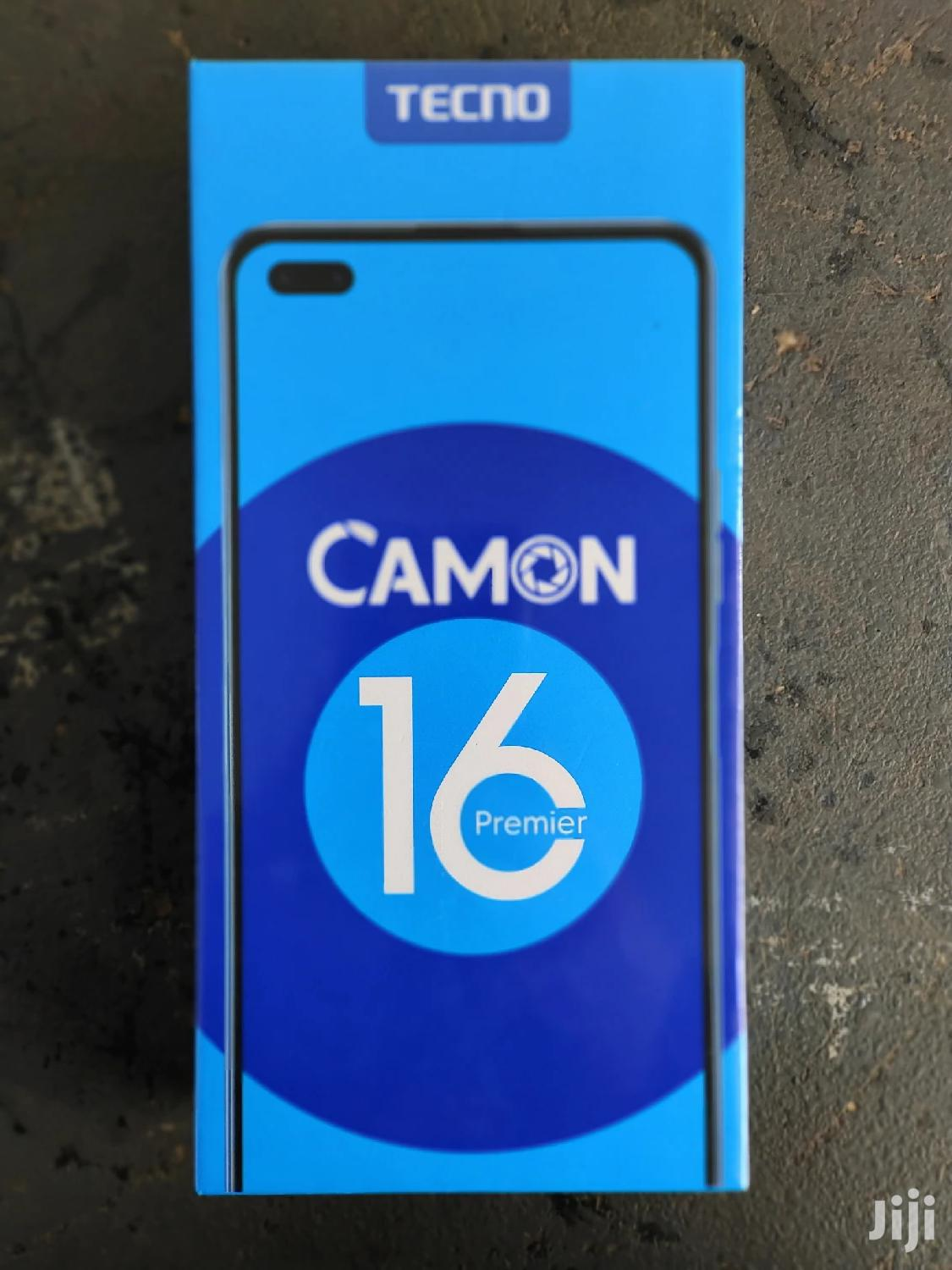 New Tecno Camon 16 Premier 128GB Silver | Mobile Phones for sale in Kabalore, Western Region, Uganda