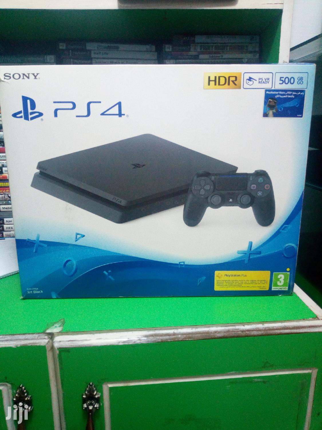 Brand New Playstation 4 Slim Console | Video Game Consoles for sale in Kampala, Central Region, Uganda