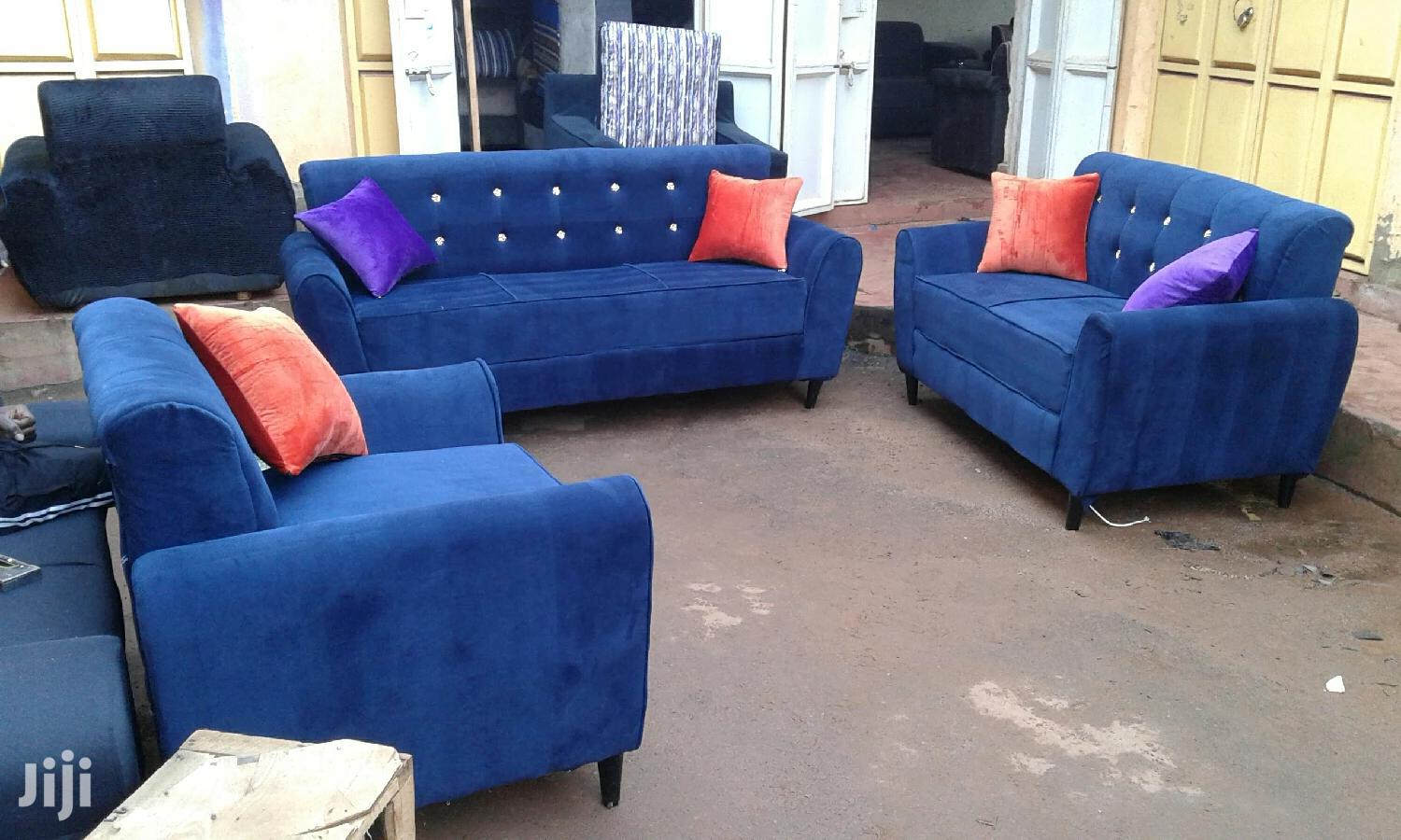 Archive: New Seven Seater Sofas Blue