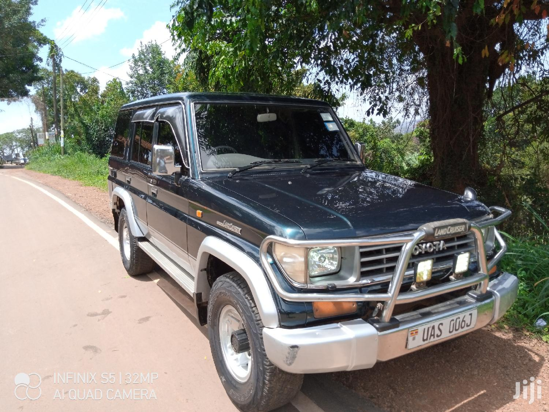 Archive: Toyota Land Cruiser Prado 1994 Green