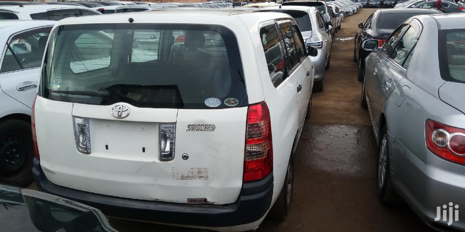 New Toyota Succeed 2007 White