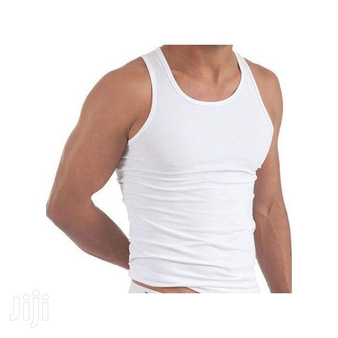 3 Pack Of High Quality Pure Cotton Vests For Men | Clothing for sale in Kampala, Central Region, Uganda