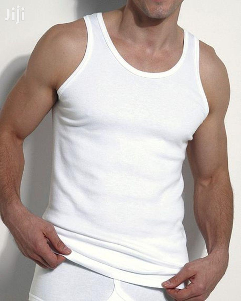 3 Pack Of High Quality Pure Cotton Vests For Men