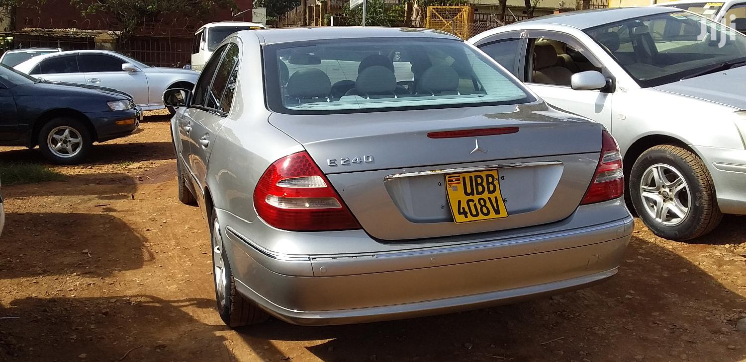 Mercedes-Benz E240 2004 Silver | Cars for sale in Kampala, Central Region, Uganda