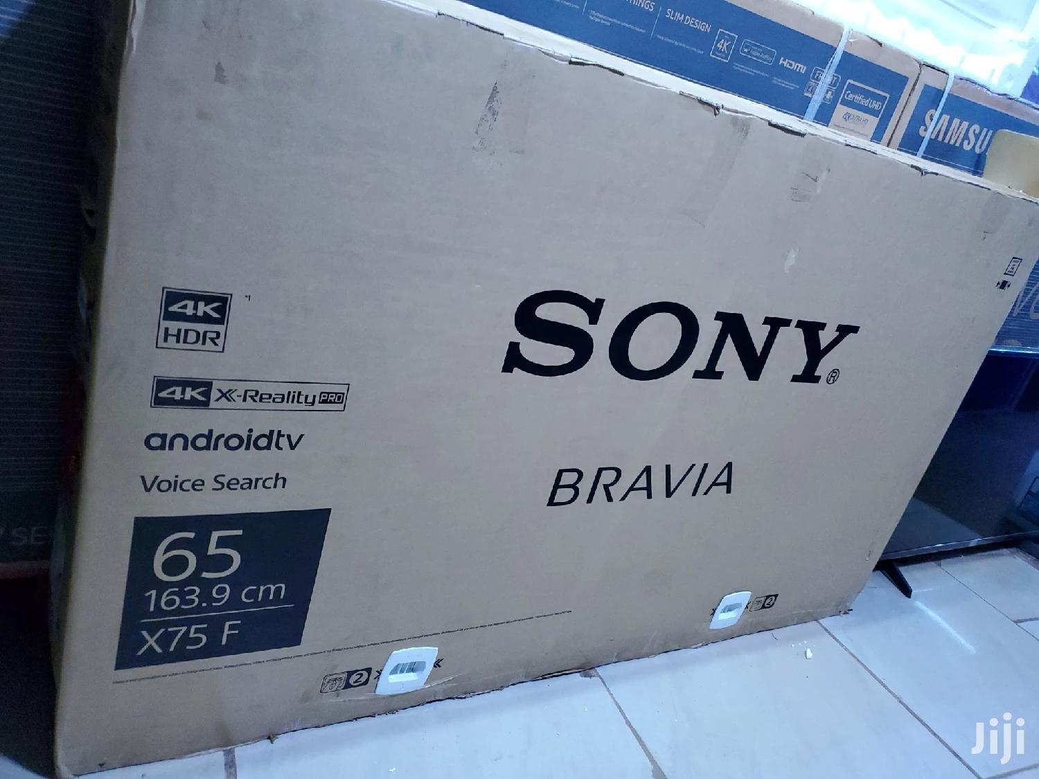 Brand New Sony Bravia Android Smart Uhd 4K TV 65 Inches